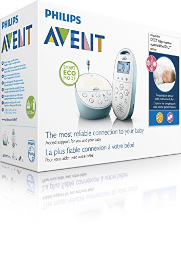 Philips Avent SCD560/00 DECT Babyphone (Smart Eco Mode, Temperatursensor ) - 4