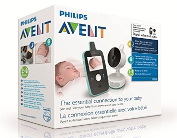 Philips Avent SCD603/00 Video Babyphone (Farbdisplay & Nachtsichtfunktion) - 5