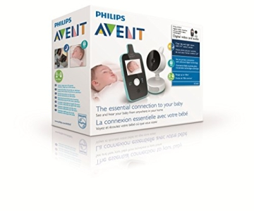 Philips Avent SCD603/00 Video Babyphone (Farbdisplay & Nachtsichtfunktion) - 9