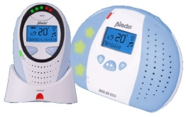 Alecto DBX 88 Eco Digitales Audio Eco Dect Babyphone, mit multifunktionalem Display - 1