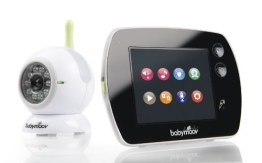 Babymoov A014407 Babyphon Touch Screen, schwarz - 1