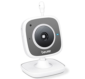 Beurer 952.66 Beurer BY 99 Dual - Baby Video Monitor Dual mode, weiß/grau - 5