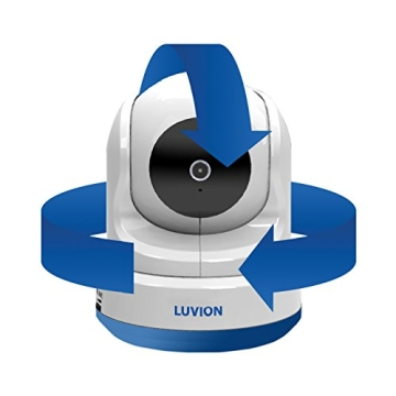 Luvion 71 Supreme Connect Digitales Babyphone mit Videofunktion, 4,3 Zoll Farbbildschirm, Dual-Modus (optional WiFi), weiß - 2