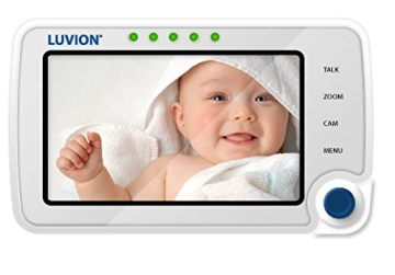 Luvion 71 Supreme Connect Digitales Babyphone mit Videofunktion, 4,3 Zoll Farbbildschirm, Dual-Modus (optional WiFi), weiß - 4