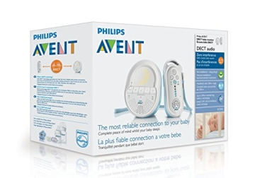 Philips Avent SCD505/00 DECT Babyphone (Smart Eco Mode, Schlaflieder) - 6