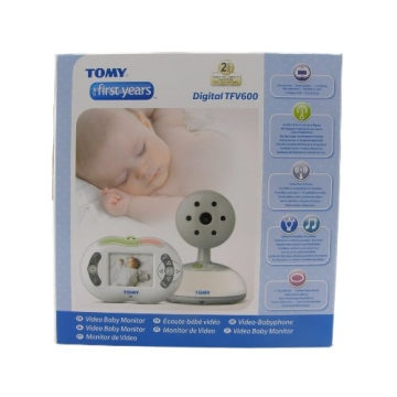 Tomy Y7581 - The First Years  Digitales Video-Babyphone TVF600 - 3