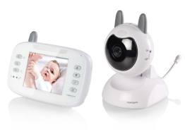 Topcom KS-4246 Digital baby video monitor, weiß - 1